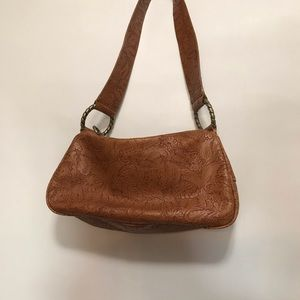 Women's brown handbag